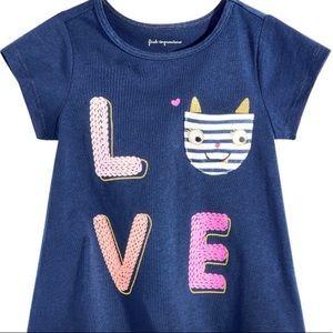 LOVE T Shirt -NWT -6-9M